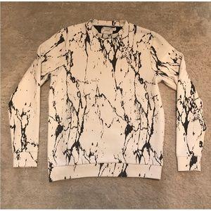 Topman Ribbed Stone Sweatshirt